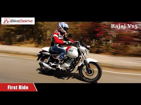 2016 Bajaj V15   First Ride Review   BikeDekho.com