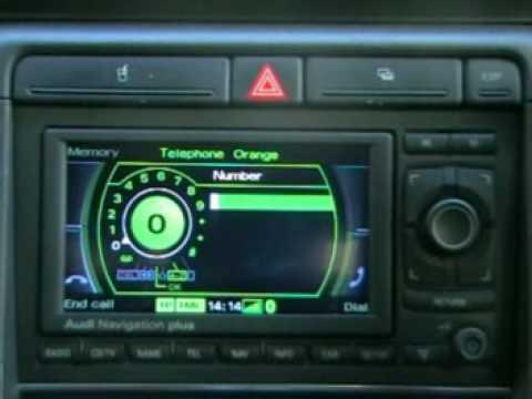 Audi A4 Rns E Bluetooth Youtube