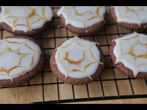 шоколадное печенье хэллоуин рецепты