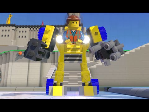 LEGO Dimensions - Emmet's Excavator/Mech Fully Upgraded - All 3 Versions (Vehicle Showcase)