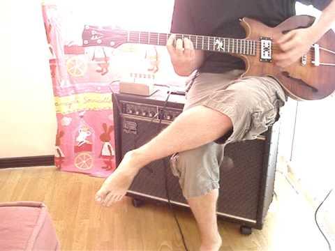 SAMPLE N°3 de ma guitare homemade (distortion blackstar dist X)