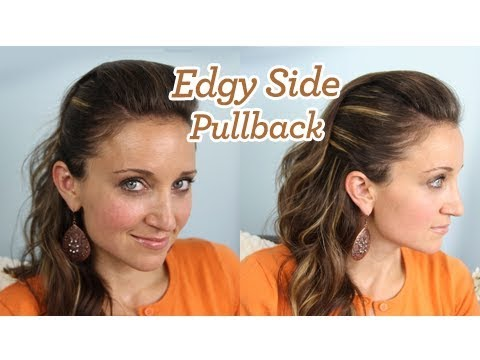 Edgy Side Pullback | Popular Hairstyles | Cute Girls Hairstyles