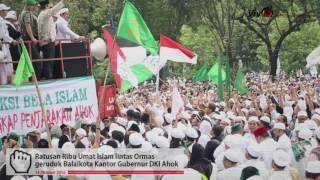 Allahu Akbar!! Habib Rizieq dan Ratusan Ribu Ormas Islam Gebrak Kantor Ahok