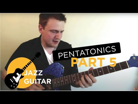 Jazz Guitar Lesson: Pentatonics Part 5 - Applications On Altered Chords, Half-Diminished Chords ...