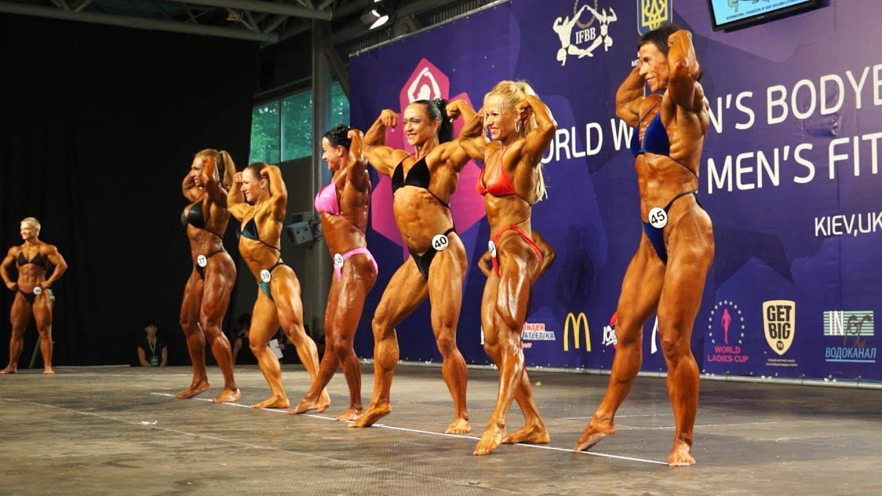World Women's Bodybuilding Championship Kiev Ukraine 2013