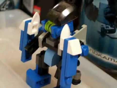 Как сделать из лего робота из живой стали