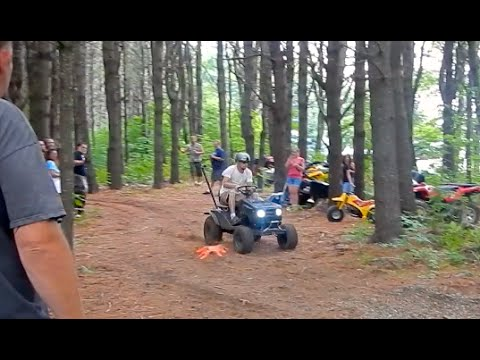 Off Road Lawn Mower Racing (Time Attack)
