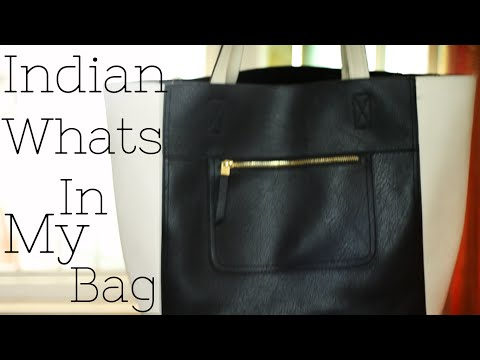 Indian Whats in my bag {Delhi fashion blogger}