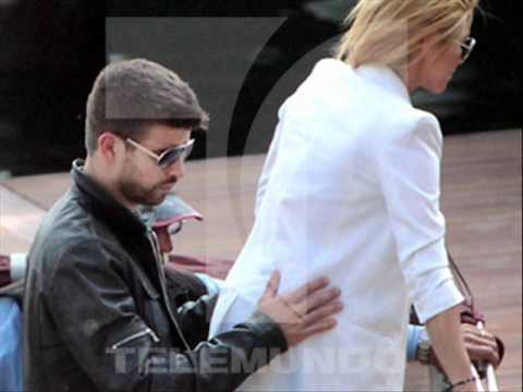 Shakira exclusive photos and pique in Italy yacht hotel
