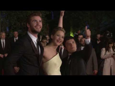 The Hunger Games: Catching Fire: Rome Premiere Arrivals & Fashion Shots - Jennifer Lawrence