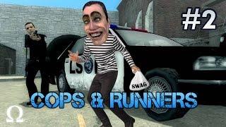 Cops & Runners | #2 - EVADING COPS WITH SHOWER BOY! | Ft. Minx, Dlive, Wade, Entoan