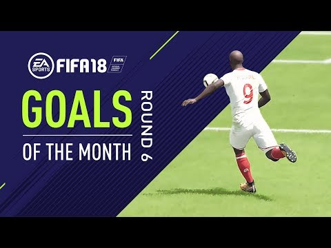 FIFA 18 | Goals of the Month | Round 6
