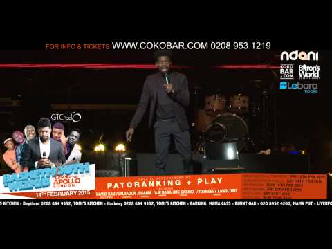 Basketmouth 21st Century Sex - Basketmouth Live At The Apollo - 14th Feb 2015 - Hmv video