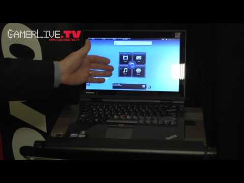 0 CES 2012: Lenovo Shows ThinkPad Hybrid Notebook with Windows  Linux Dual OSes
