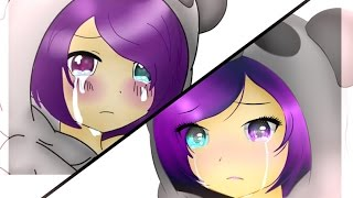 Before and after:After eue SPEEDPAINT(base anime)