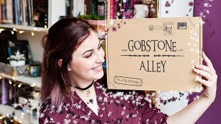 GOBSTONE ALLEY (Harry Potter box) OCTOBER 2017 | Book Roast