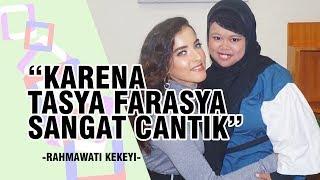 Idolakan Tasya Farasya, Rahmawati Kekeyi Menangis Bertemu sang Beauty Vlogger di Hitam Putih