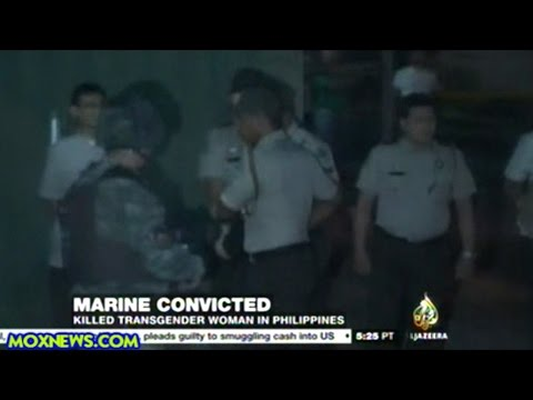 U.S. Marine Convicted Of Killing Transgender Woman In Philippines