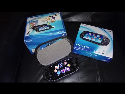 PlayStation Vita First Edition Bundle Unboxing and much more!!