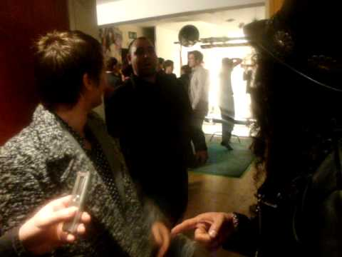 In conversation with Matt Bellamy from Muse and Slash at the NME Awards 2010