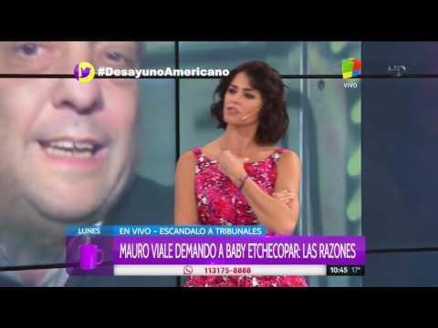 Mauro Viale habló de Baby Etchecopar: No voy a dejar que me injurie