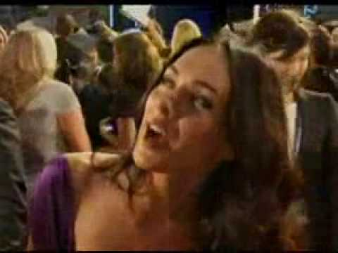 megan fox transformers 2 white dress scene. Transformers 2 World Premiere part 1