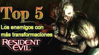 Top 5: Los enemigos con más transformaciones en Resident Evil