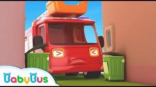 몬스터차 동요|용감한 구조대 출동!|소방차|경찰차|구급차|견인트럭|베이비버스 인기동요|BabyBus