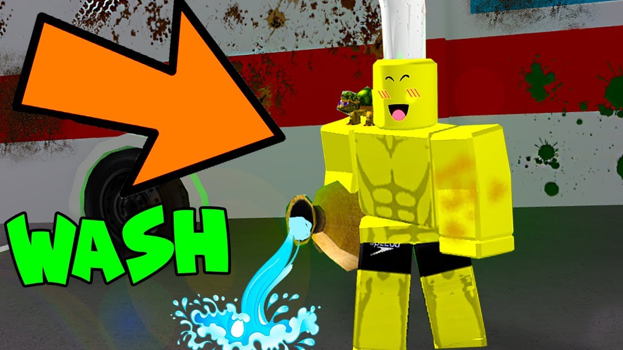 ROBLOX CAR WASHING SIMULATOR *RUB-A-DUB-DUB*