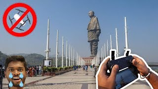 Rs.1 Lakh Drone CRASHED at Statue Of Unity !! 😱😱😱| VLOG² 13
