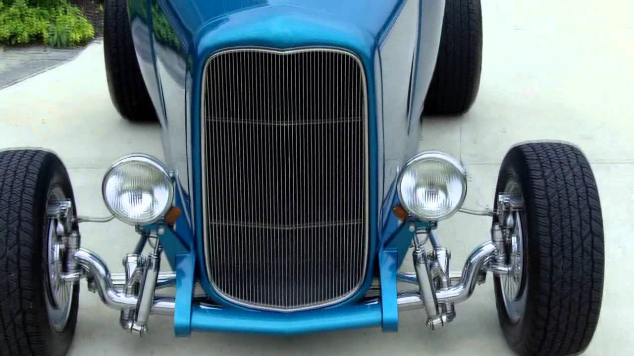 1930 Ford Steel Body Highboy Classic Muscle Car For Sale