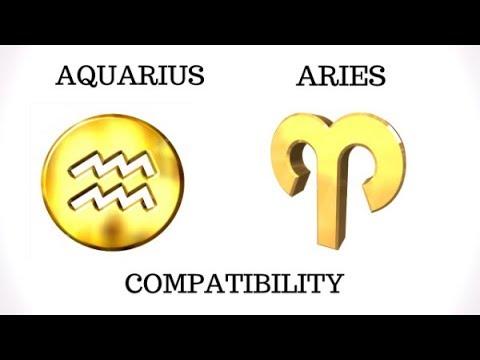 Aquarius and Aries Compatibility