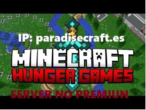 SERVER NO PREMIUN 1.7.2-1.7.9 [Hunger Game]-[Juegos De Hambre]