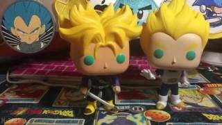 AAA Anime Exclusive Super Saiyan Vegeta Funko Pop Exclusive New York Comic Con Super Saiyan Trunks