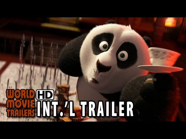 Kung Fu Panda 3 Official International Trailer #1 (2016) HD