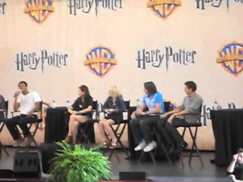 Harry Potter Celebration Weekend Q&A 11/13/11 4 PM Session