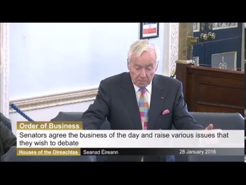 Senator Feargal Quinn proposes revoking passports/nationality of terrorists