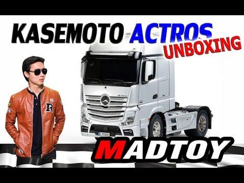 MADTOY ตอนที่221 ขาย รถบังคับหัวลาก KASEMOTO ACTROS BENZ 16.900บาท