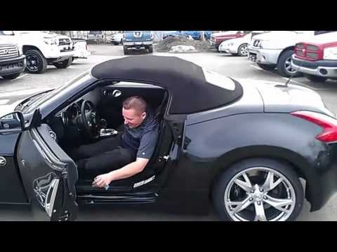Jared Talking About The 2012 Nissan 370z Roadster Youtube