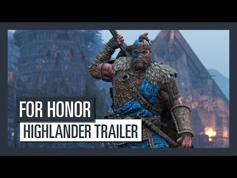 For Honor Grudge and Glory - Highlander-Trailer