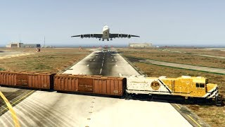 GTA 5 - Amazing\terrible PLANE CRASH Compilation #6 (This is GTA5 game)...