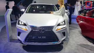 LEXUS NX 300 IN CLOSE VIEW. Lexus NX 300 detailed overview, review. The all-new NX 300, model 2017