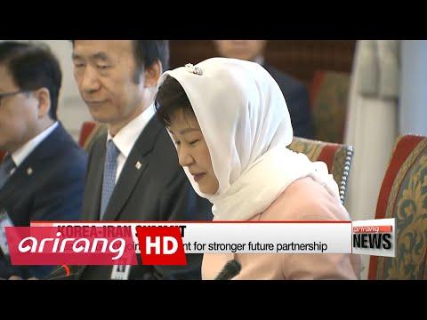 Korea-Iran summit results in economic, diplomatic cooperation