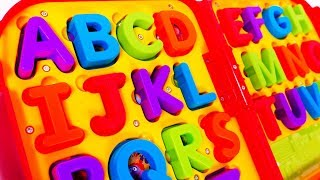 Learn ABC with Toys for Kids and Children
