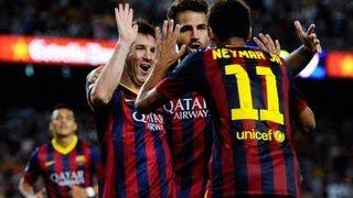 Neymar vs Sevilla Home (14/09/2013)