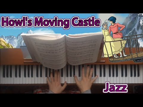 Howl's Moving Castle - Merry-Go-Round Of Life - Jazz Piano Version