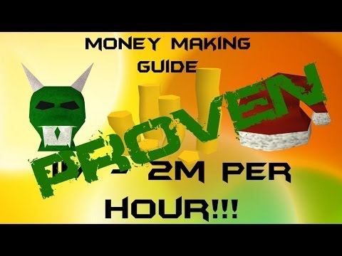 RuneScape P2P EoC Money Making Guide PROOF! 1m – 2m + per hour 2013 Commentary