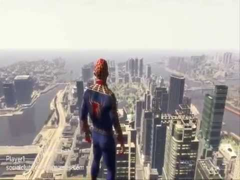 Gta 4 Spider-Man BEST MOD. NoT FAT spider![Mod Link]