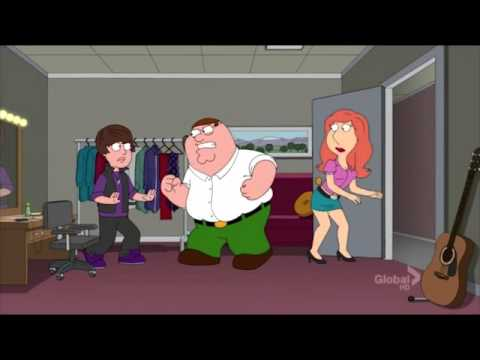 Justin Bieber Gets Punched Out On Family Guy