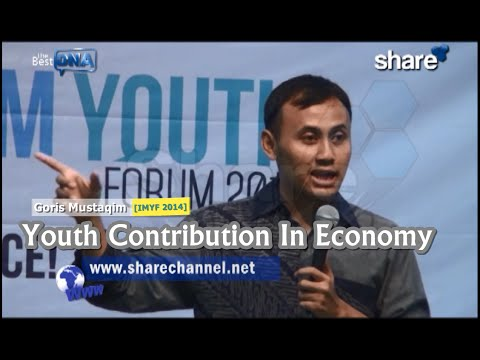 The Best DNA: [IMYF 2014] 'Youth Contribution In Economy' - Goris Mustaqim